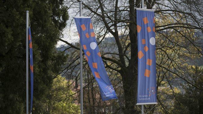 Flaggen 47. St. Gallen Symposium 2017