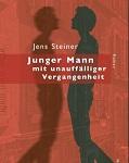 """Buchumschlag / book cover Jens Steiner """"Junger mann mit unauffälliger Vergangenheit"""""""